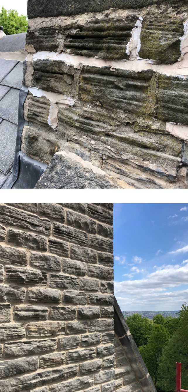 Repointing in Broomhill